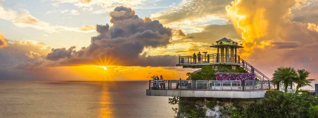 Where to get Married on Guam Two Lovers Point
