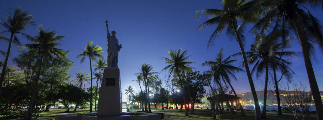 Guam Museum Presents New In Hahasso' Ha Display Statue of Liberty