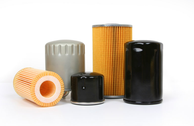 isolated oil filters