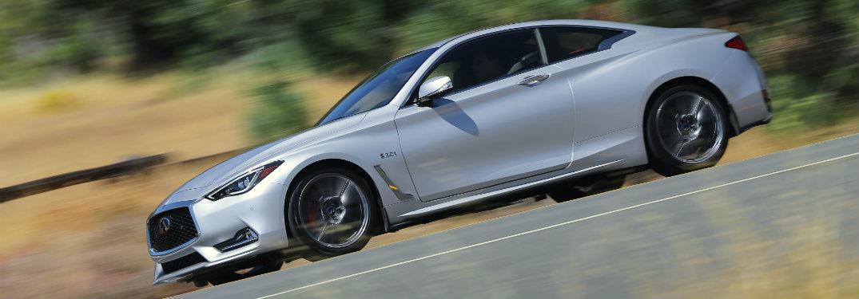 silver infinifi q60 driving