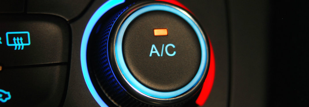 How does Freon work in a car's air conditioning system?