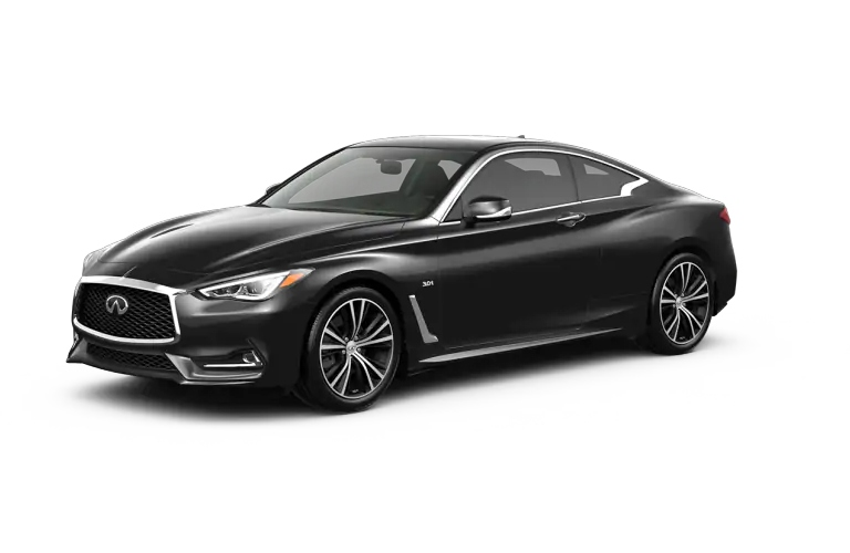 2019 INFINITI Q60 Black Obsidian Exterior Color Option