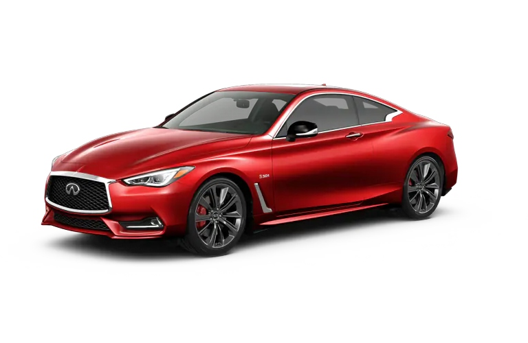 2019 INFINITI Q60 Dynamic Sunstone Red Exterior Color Option