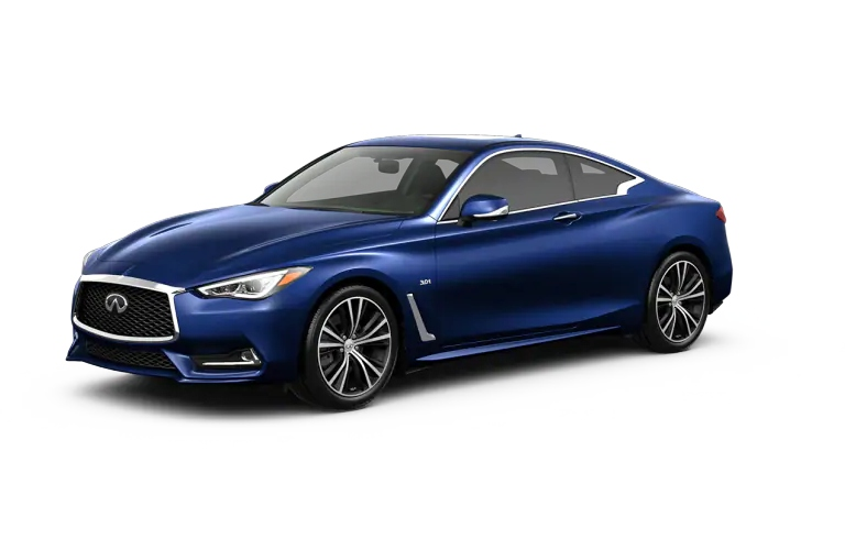 2019 INFINITI Q60 Iridium Blue Exterior Color Option