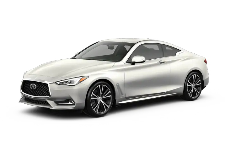 2019 INFINITI Q60 Majestic White Exterior Color Option