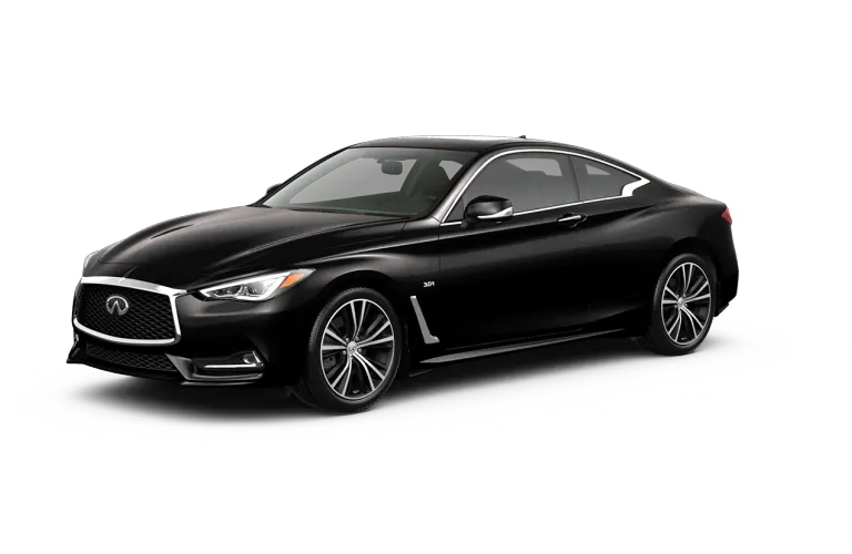 2019 INFINITI Q60 Midnight Black Exterior Color Option
