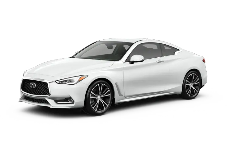 2019 INFINITI Q60 Pure White Exterior Color Option