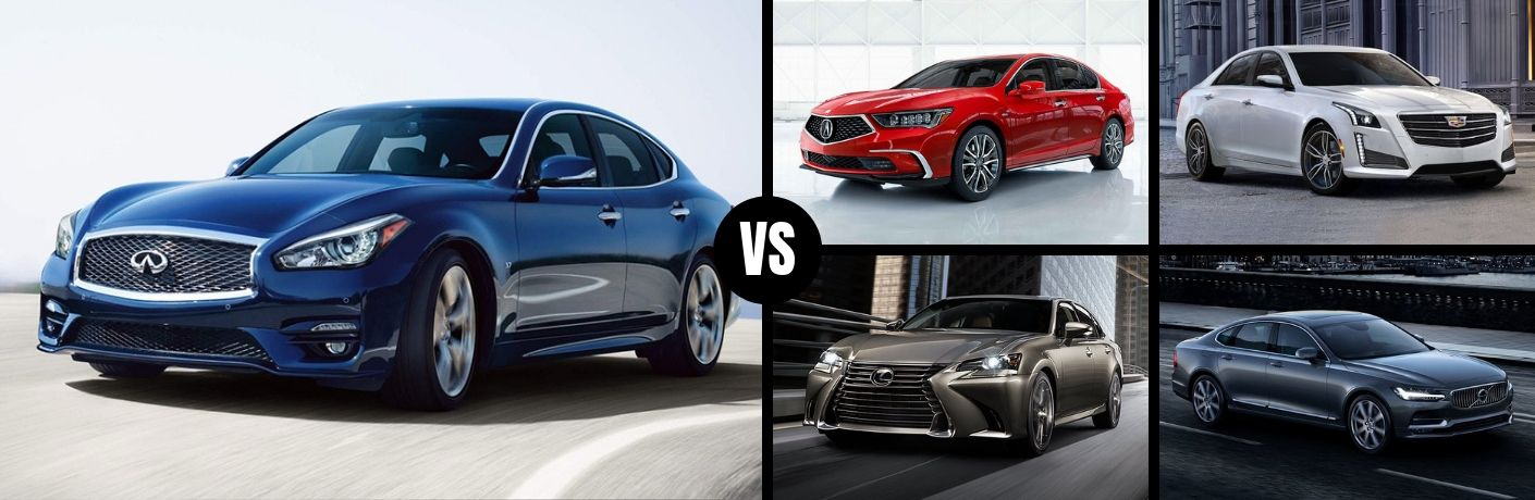 How Does the 2019 INFINITI Q70 Match Up with the Competition?