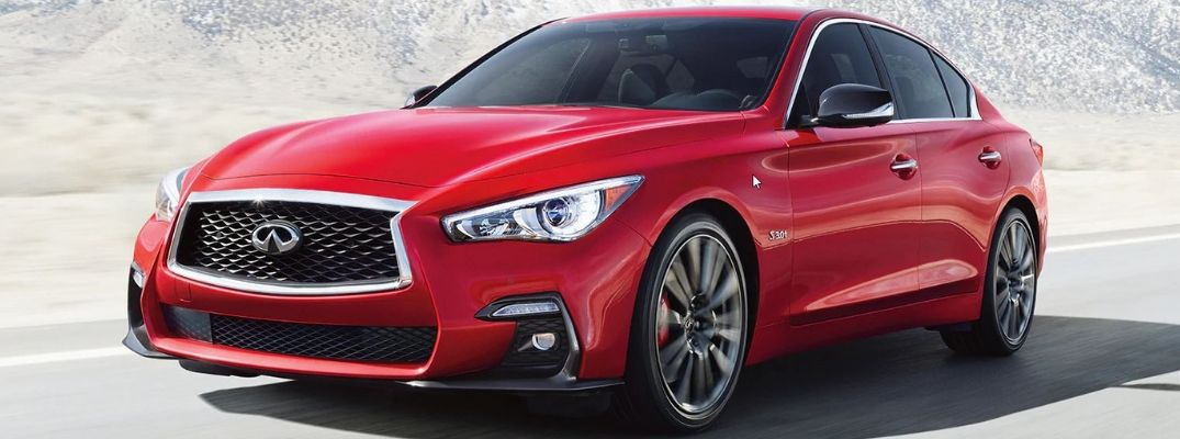 Check out the Stunning Design of the 2019 INFINITI Q50 Red Sport 400 Today!