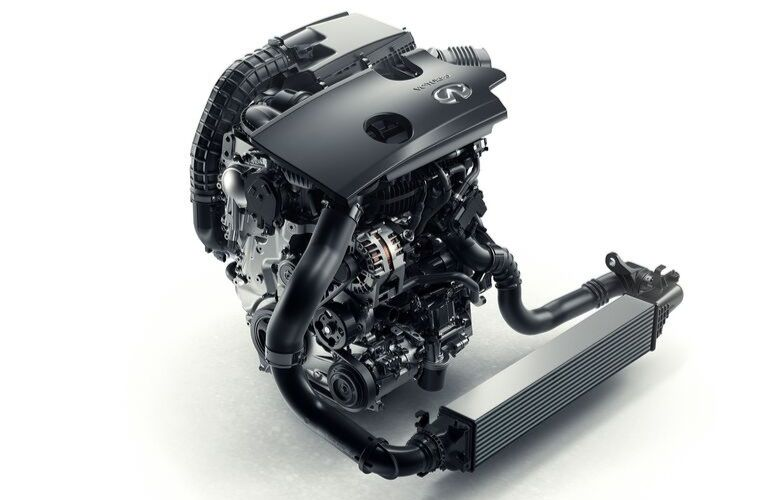 Image of the 2020 INFINITI QX50 VC-Turbo engine