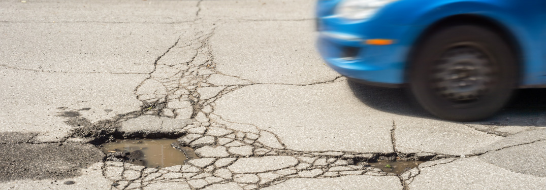 Avoiding Potholes On the Road Means Avoiding Damage to Your Vehicle
