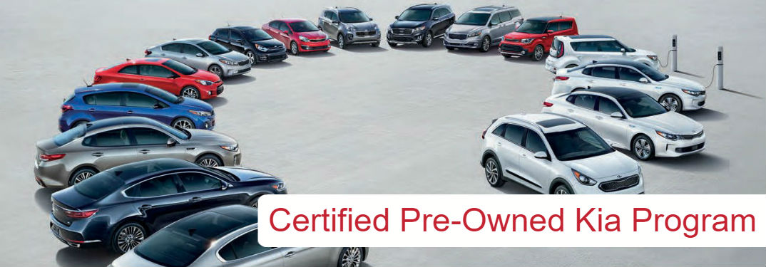 Certified Pre-Owned Kia Program at Bob Rohrman Kia