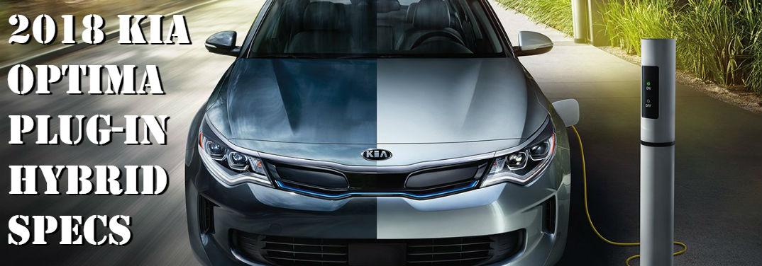 2018 Kia Optima Plug-in Hybrid Specs