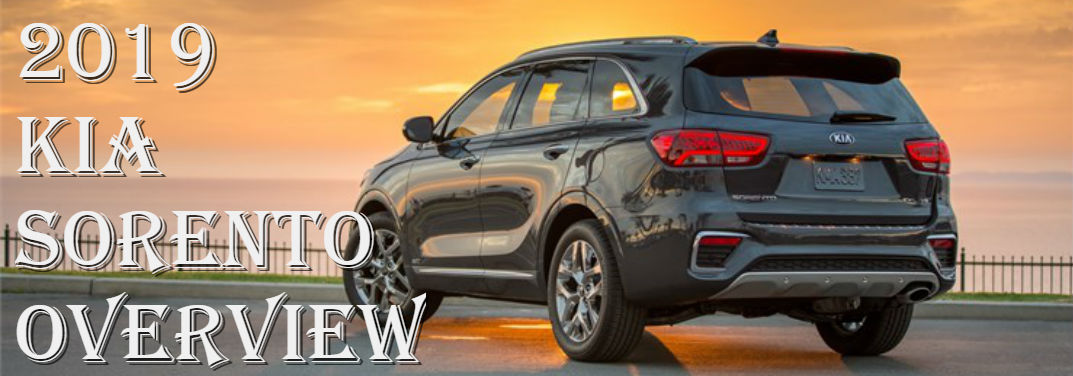 First Look at the 2019 Kia Sorento: Overview