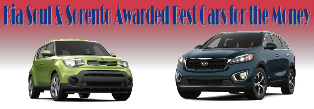 2018 Kia Soul and Sorento named Best Cars for the Money