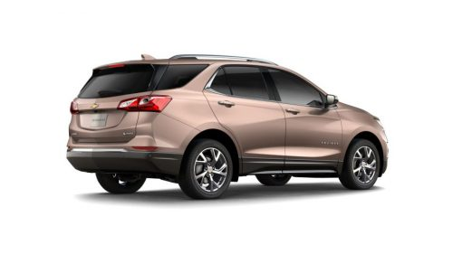 What are the new color options of the 2018 Chevy Equinox?