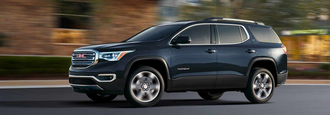 How Much Weight Can The 2018 Gmc Acadia Tow