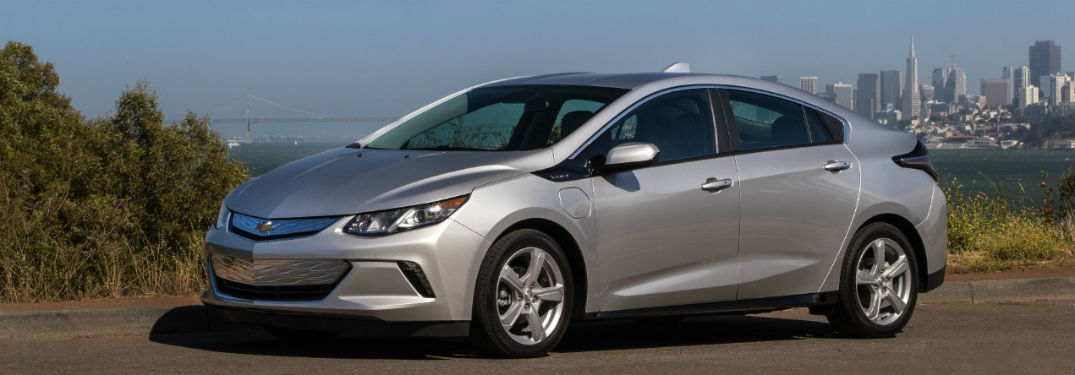 2019 Chevy Volt exterior front fascia and drivers side