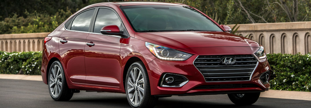 Whats new in the 2018 Hyundai Accent?