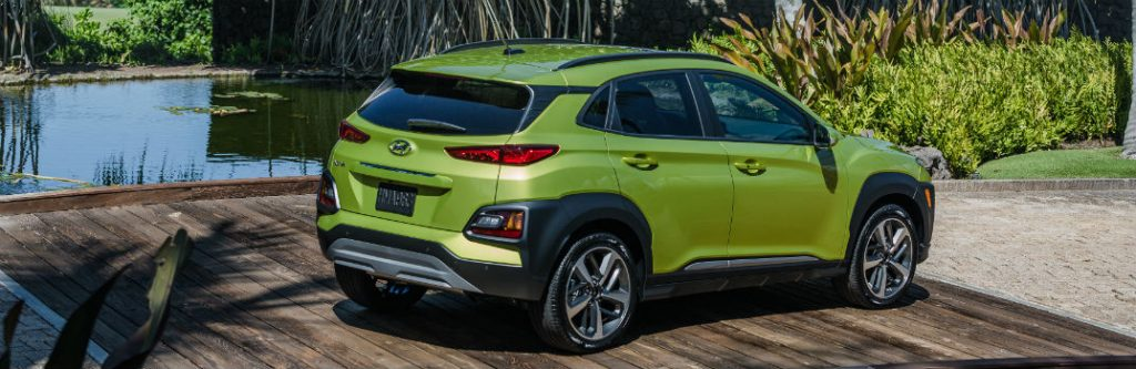 Elantra Vs Sonata >> Brand-new 2018 Hyundai Kona Trim Levels & Pricing