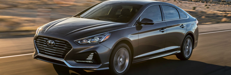 2018 Hyundai Sonata Exterior Driver Side Profile