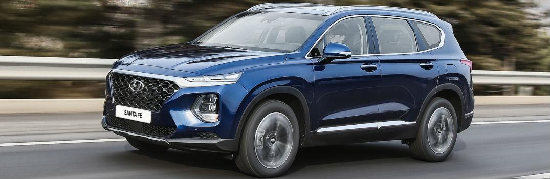 2019 Hyundai Santa Fe Exterior Driver Side Profile