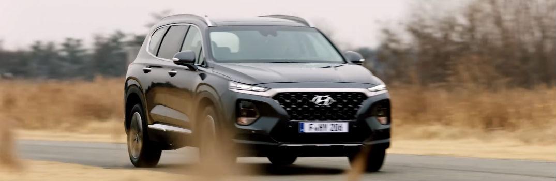 2019 Hyundai Santa Fe Exterior Passenger Side Front From Teaser Video