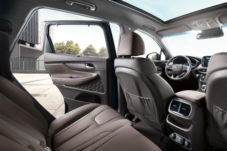 2019 Hyundai Santa Fe Interior Cabin Driver Side Rear Seat Door