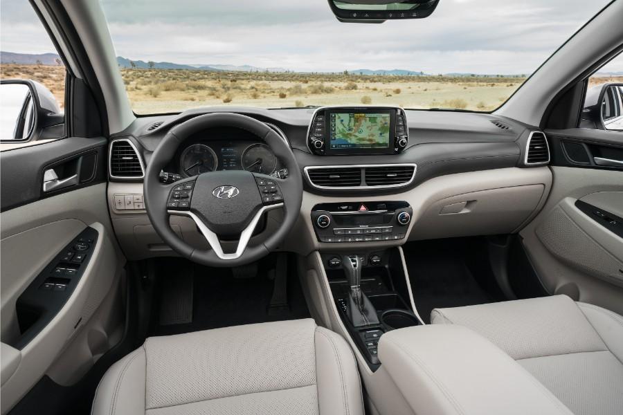 All new 2019 hyundai tucson crossover photo gallery - Hyundai tucson interior pictures ...
