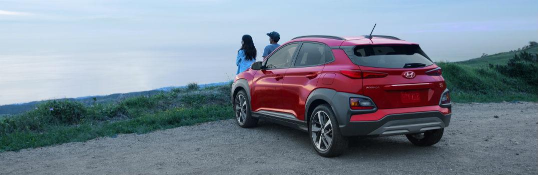 2018 Hyundai Kona Exterior Driver Side Rear from the Kona Way
