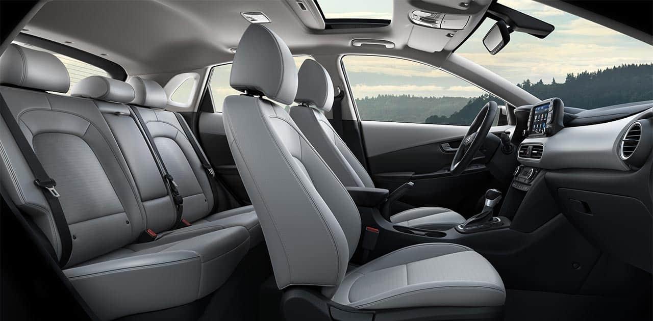 2018 Hyundai Kona Exterior & Interior Color Options