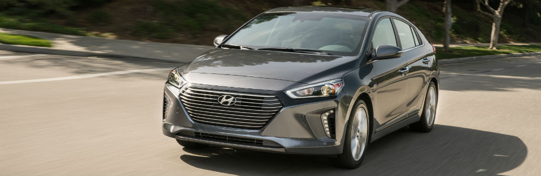 2019 Hyundai Ioniq Hybrid Exterior Driver Side Front