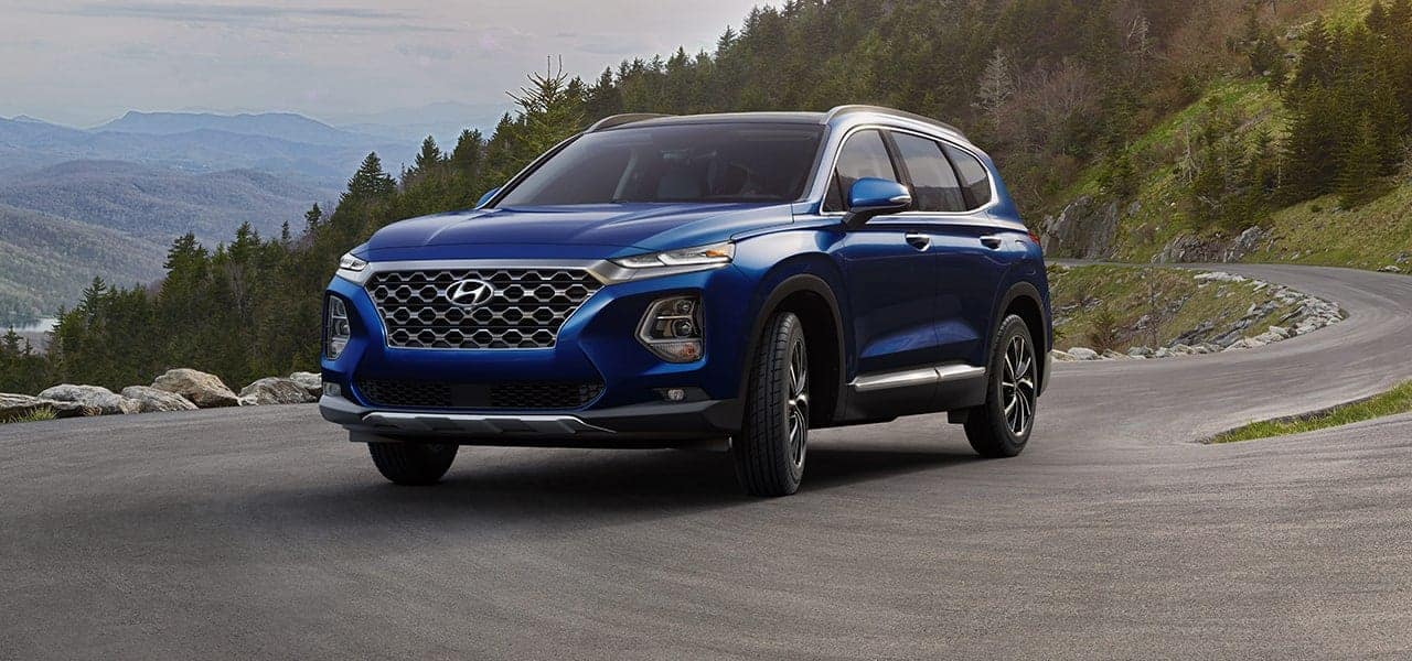 2019 Hyundai Santa Fe Stormy Sea side view
