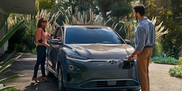 2019 Hyundai Kona Electric charging