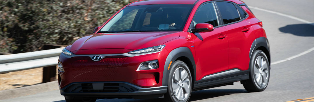 2019 Hyundai Kona Electric Exterior Driver Side Front Profile