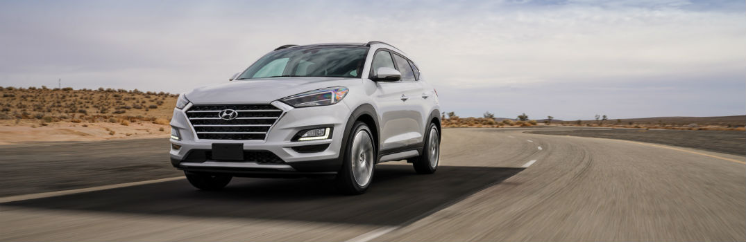 2019 Hyundai Tucson Exterior Driver Side Front Angle