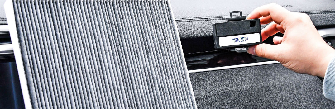 Hyundai Smart Air Purification Intelligent System with Hand