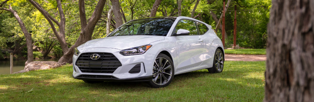 2019 Hyundai Veloster Exterior Driver Side Front Profile