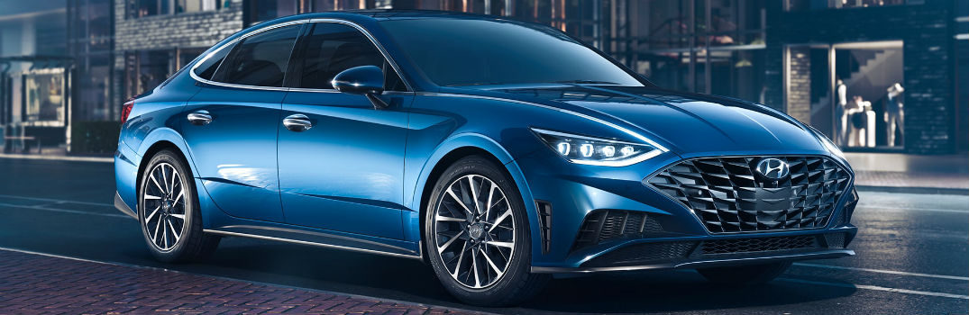 2020 Hyundai Sonata Exterior Color Options