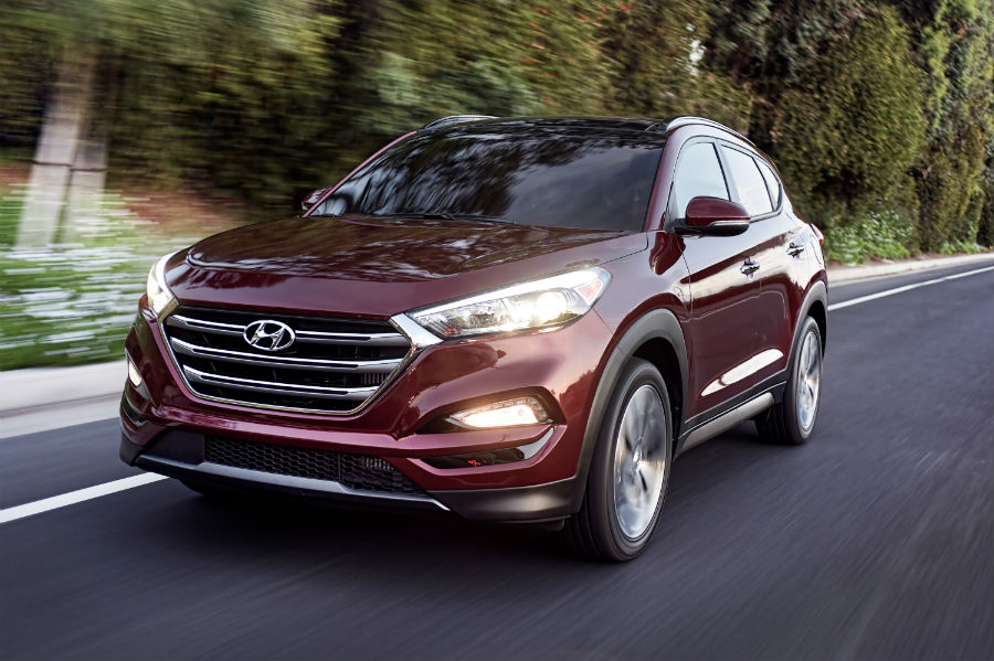 2016 Hyundai Tucson Exterior Driver Side Front Angle