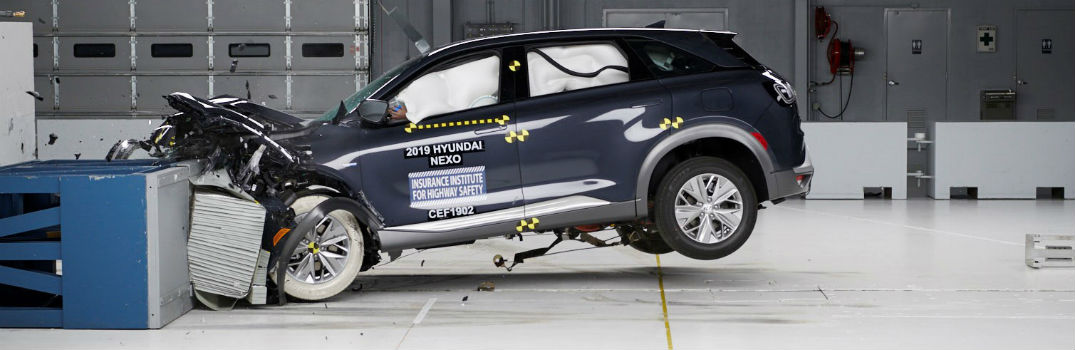 2019 Hyundai NEXO Mid IIHS Crash Test