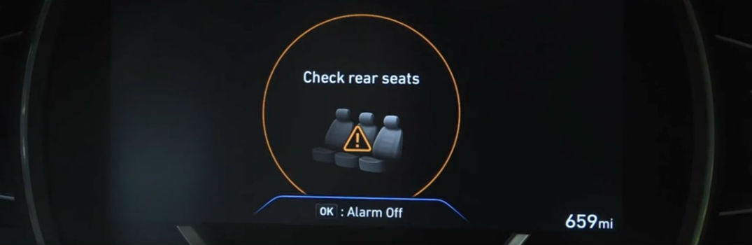 Does Rear Occupant Alert come standard on any Hyundai models?