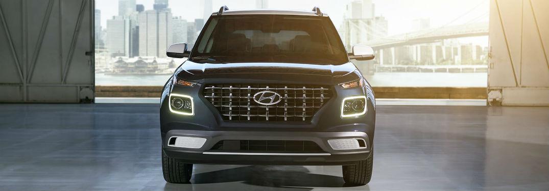 2020 Hyundai Venue Exterior Front Fascia