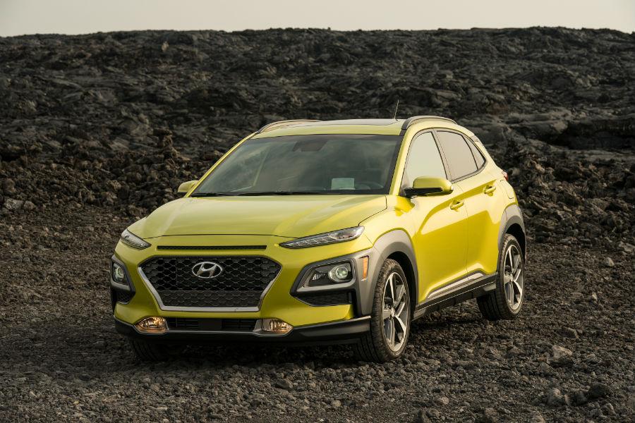 2020 Hyundai Kona Exterior Driver Side Front Angle