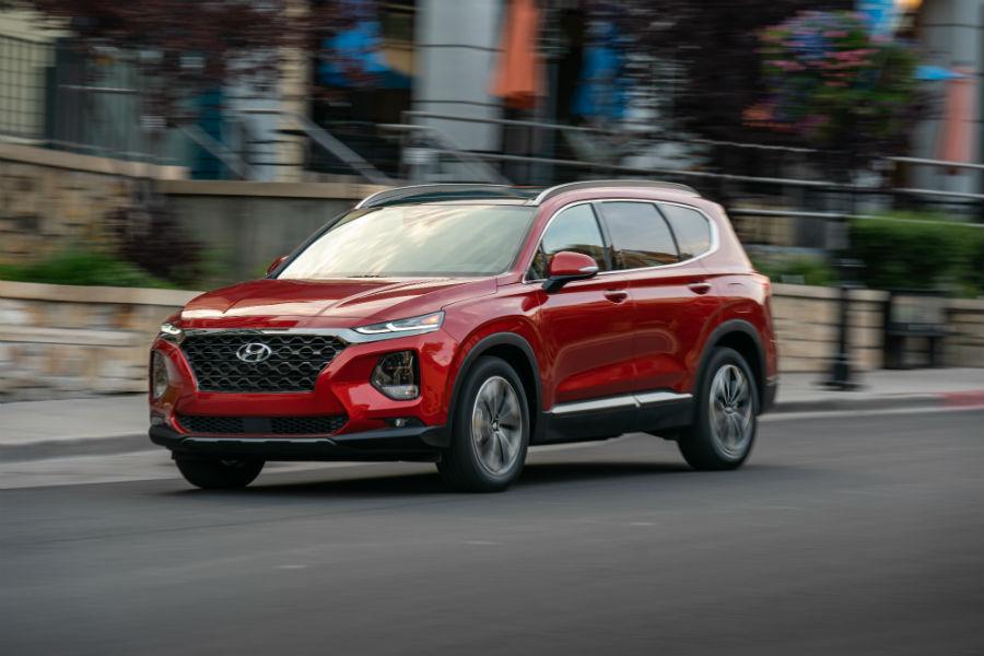 2020 Hyundai Santa Fe Exterior Driver Side Front Profile