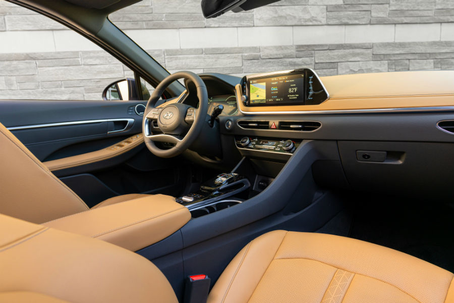 2020 Hyundai Sonata Interior Cabin Dashboard