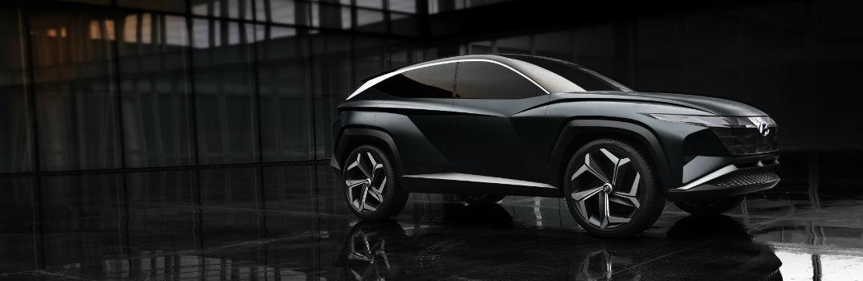 2020 Hyundai Vision T Concept Exterior Passenger Side Front Profile