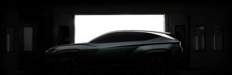Hyundai Concept Silhouette Teaser for 2019 AutoMobility LA Auto Show