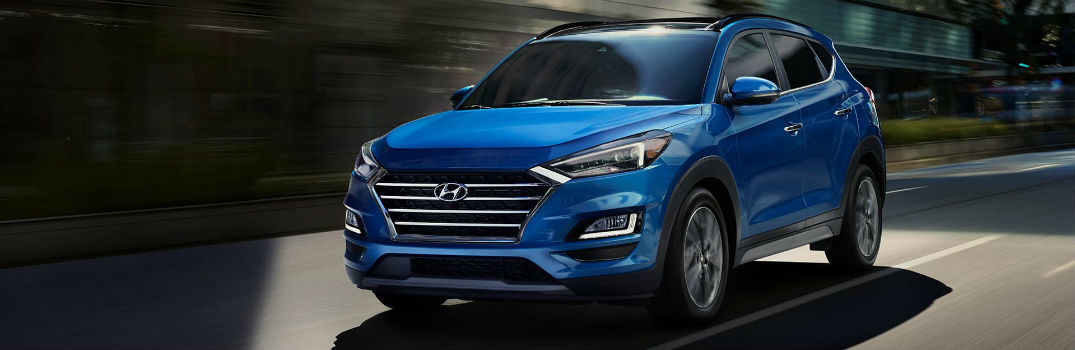 2020 Hyundai Tucson Exterior & Interior Color Options
