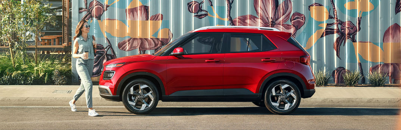 2020 Hyundai Venue Exterior Driver Side Profile